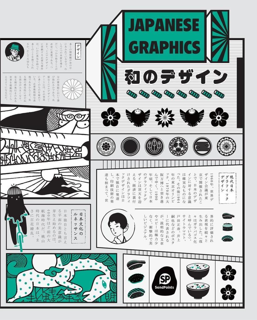 Japanese Graphics als Buch von