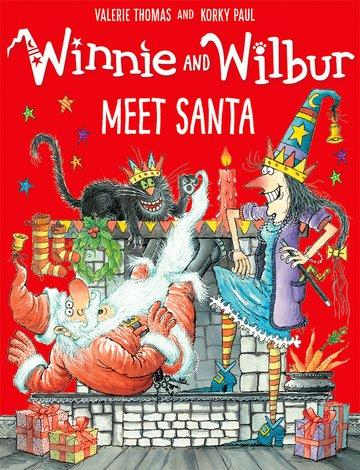 Winnie and Wilbur Meet Santa als Taschenbuch