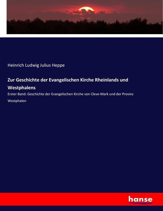 Zur Geschichte der Evangelischen Kirche Rheinla...