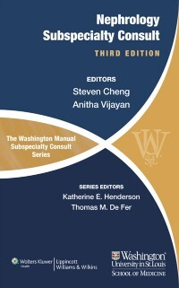 Washington Manual of Nephrology Subspecialty Co...