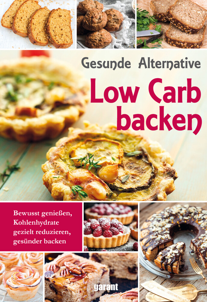 Low Carb Backen als Buch