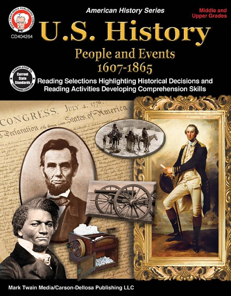 U.S. History, Grades 6--12 - People and Events ...