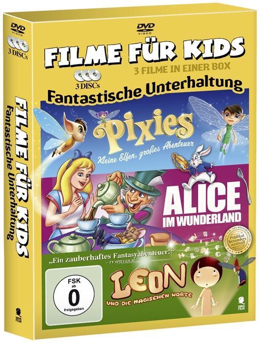 Filme für Kids - Fantastische Unterhaltung, 3 DVD