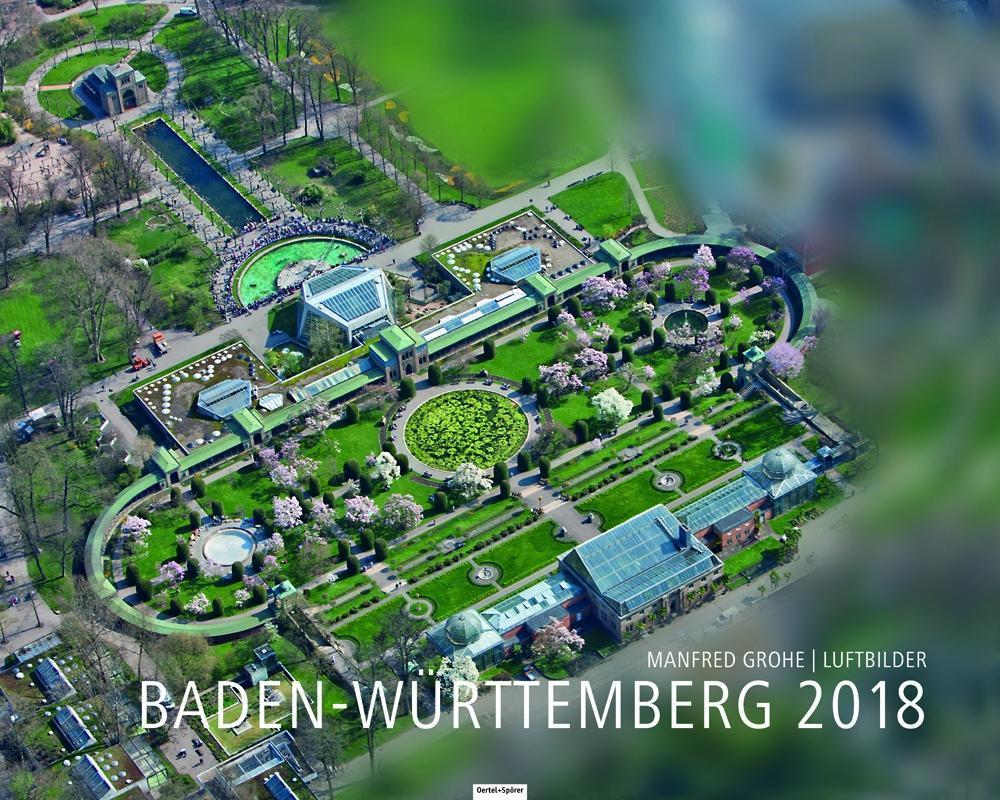 Baden-Württemberg 2018 als Kalender