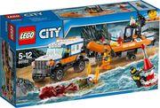 LEGO® City 60165 Geländewagen mit Rettungsboot