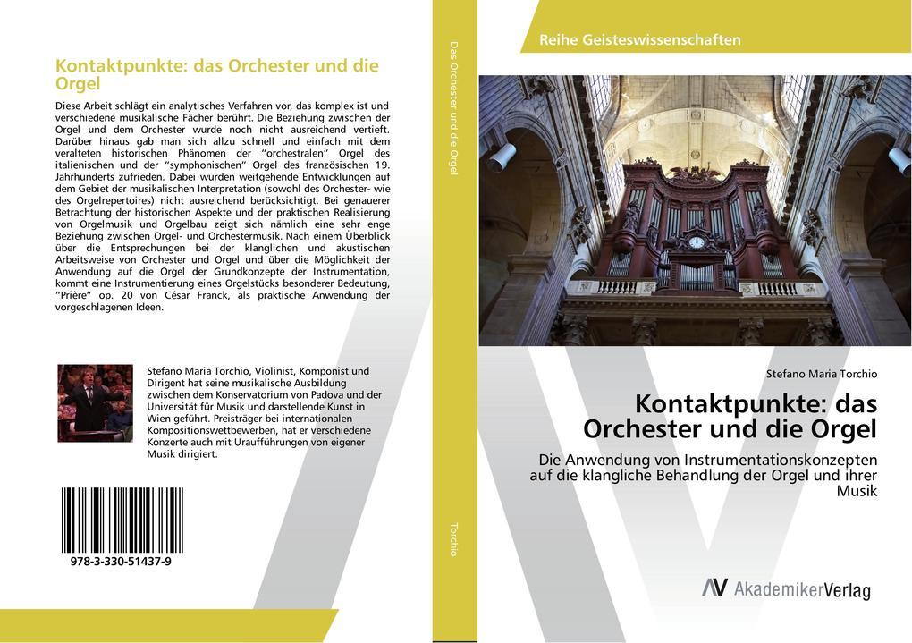 Kontaktpunkte: das Orchester und die Orgel als ...