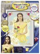 Die Schöne und das Biest - Malen nach Zahlen: Belle
