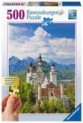 Märchenhaftes Schloss Neuschwanstein Gold Edition. 500 Teile Puzzle