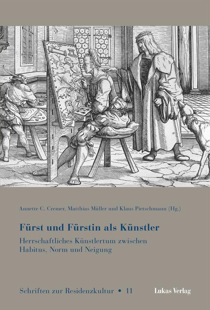 Fürst und Fürstin als Künstler als Buch