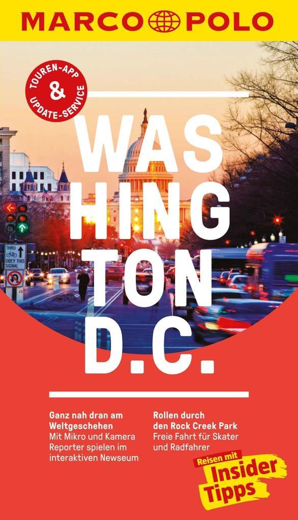 MARCO POLO Reiseführer Washington D.C als eBook