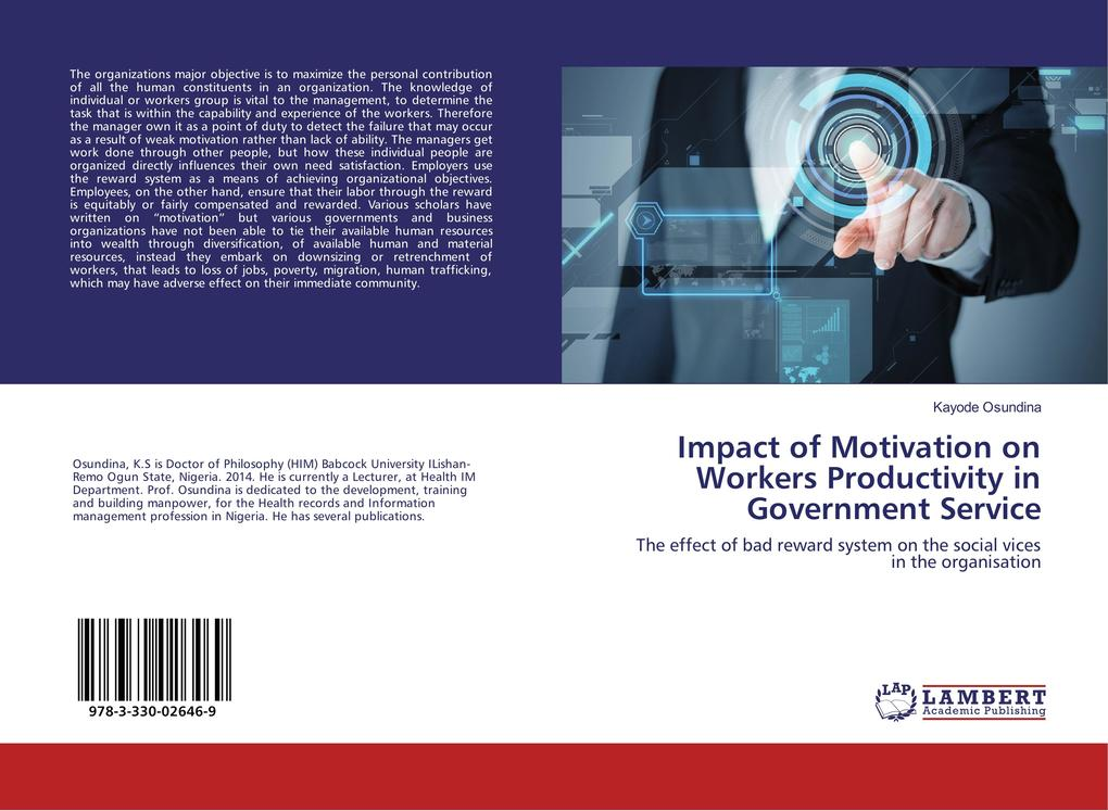 Impact of Motivation on Workers Productivity in...