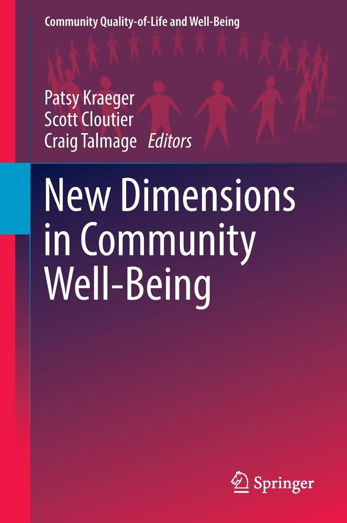 New Dimensions in Community Well-being als Buch...