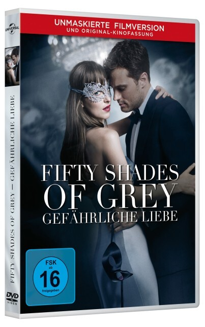 Fifty Shades of Grey 2 - Gefährliche Liebe als DVD