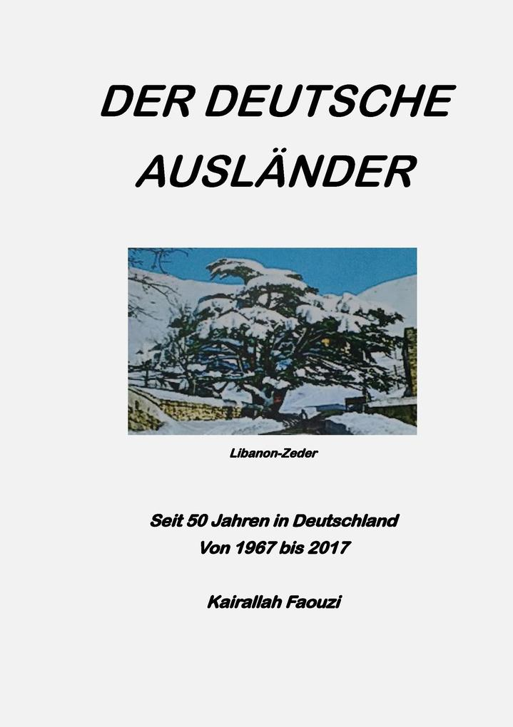Der deutsche Ausländer als Buch von Kai Faouzi