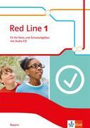 Red Line. Fit für Tests und Schulaufgaben mit CD-ROM. Klasse 5. Ausgabe für Bayern ab 2017