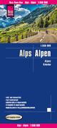 Reise Know-How Landkarte Alpen 1:550.000