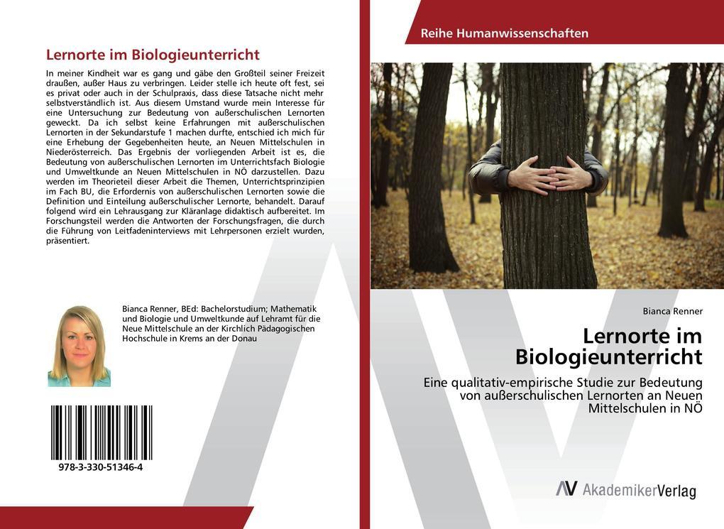 Lernorte im Biologieunterricht als Buch von Bia...