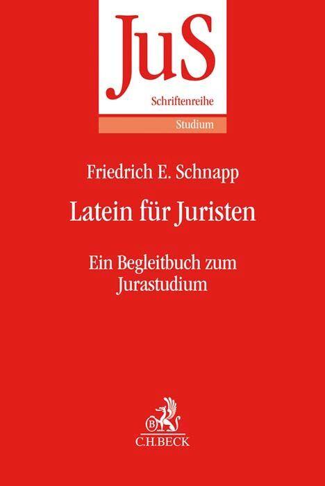 Latein für Juristen als Buch (kartoniert)