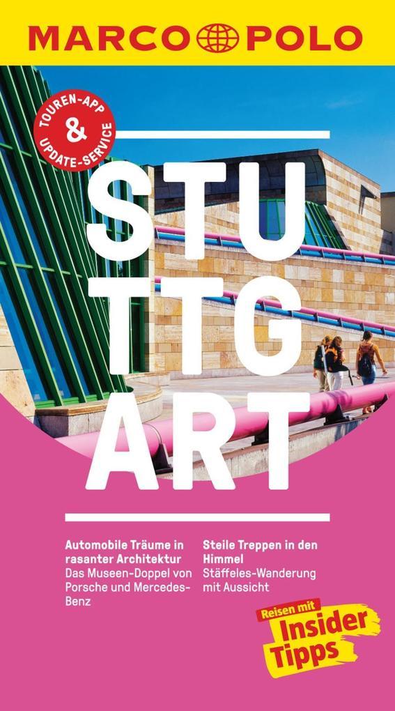 MARCO POLO Reiseführer Stuttgart als eBook