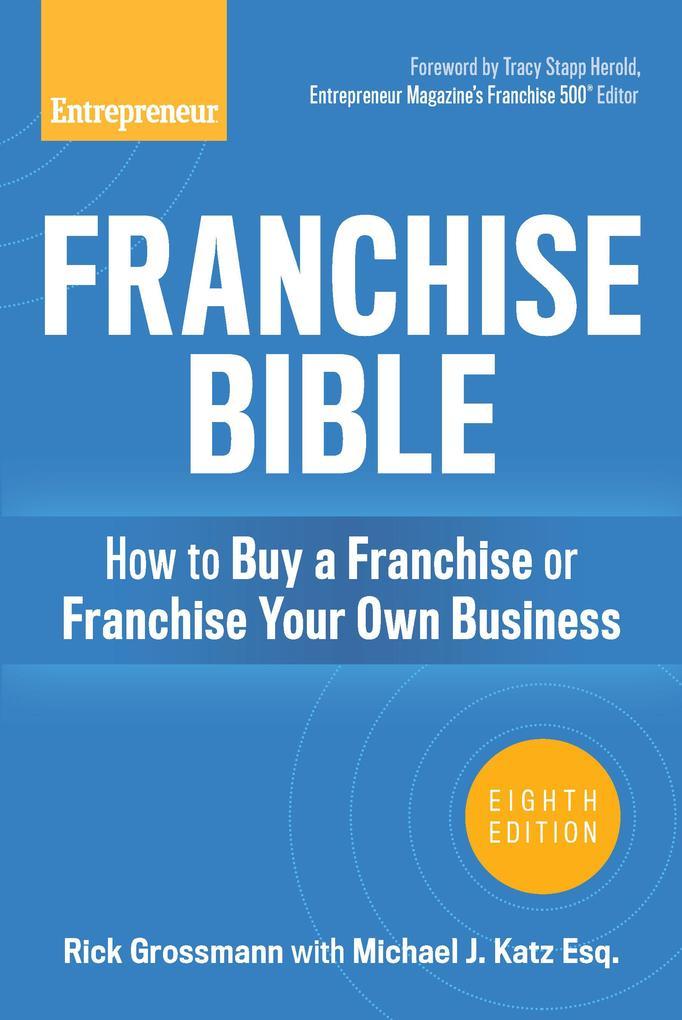 Franchise Bible als eBook Download von Rick Gro...