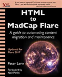 HTML to MadCap Flare als eBook Download von Pet...
