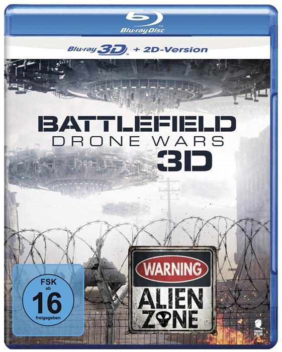 Battlefield: Drone Wars 3D, 1 Blu-ray
