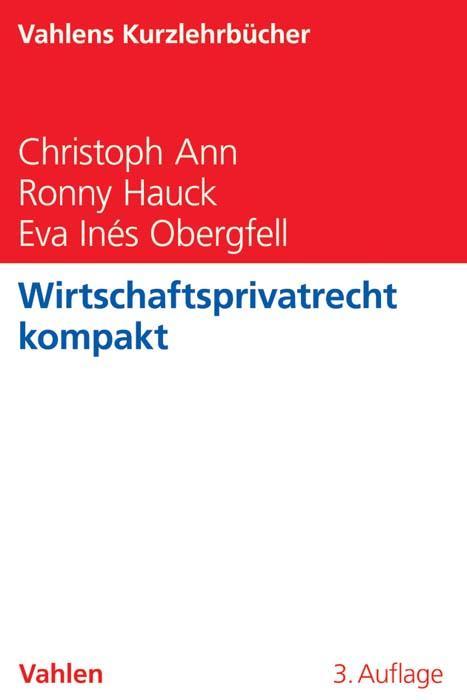 Wirtschaftsprivatrecht kompakt als Buch von Chr...