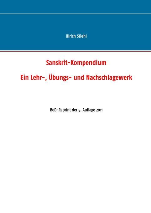 Sanskrit-Kompendium als Buch