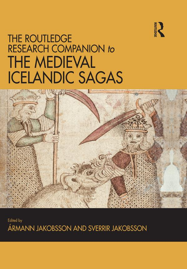 The Routledge Research Companion to the Medieval Icelandic Sagas als eBook epub