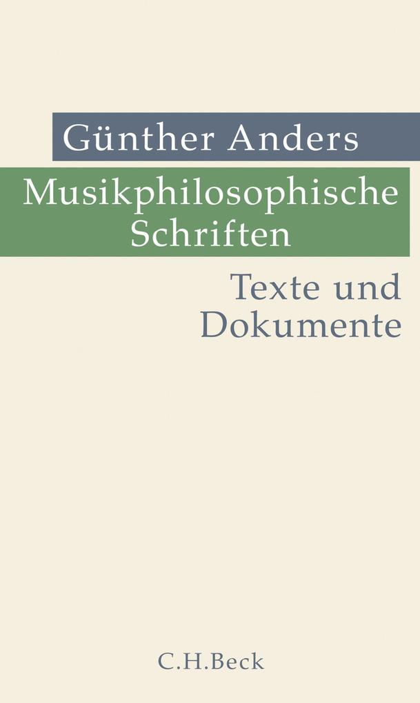 Musikphilosophische Schriften als eBook