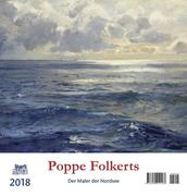 Poppe Folkerts 2018 Postkartenkalender
