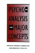 Psychoanalysis: The Major Concepts