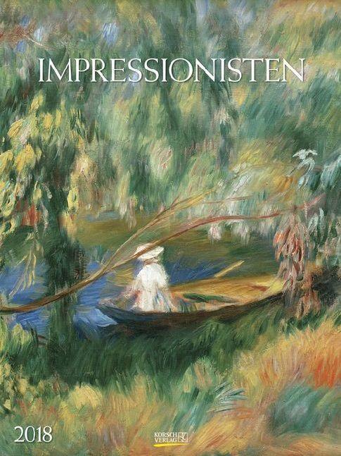 Impressionisten 2018. Kunst Gallery Kalender