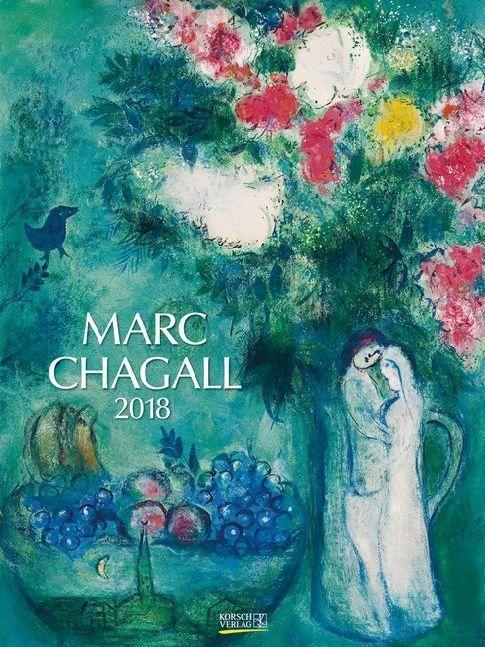 Marc Chagall 2018. Kunst Gallery Kalender