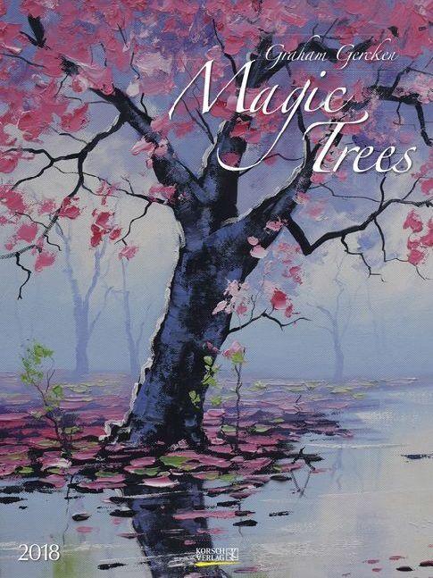 Magic Trees 2018. Kunst Gallery Kalender