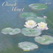 Claude Monet 2018. Broschürenkalender