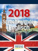 Sprachkalender Englisch 2018 Tages-Abreisskalender