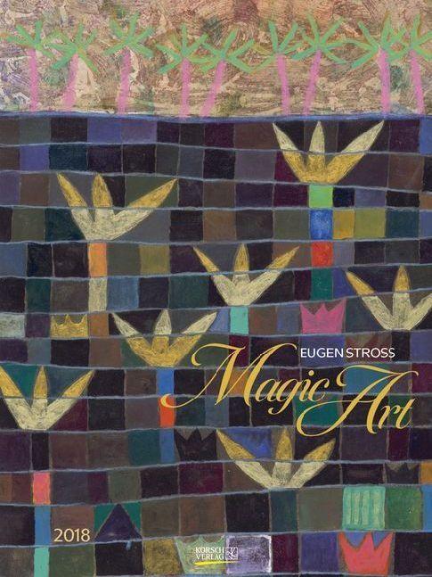 Magic Art 2018. Kunst Gallery Kalender