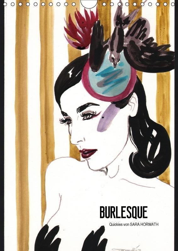 Burlesque (Wandkalender 2018 DIN A4 hoch)