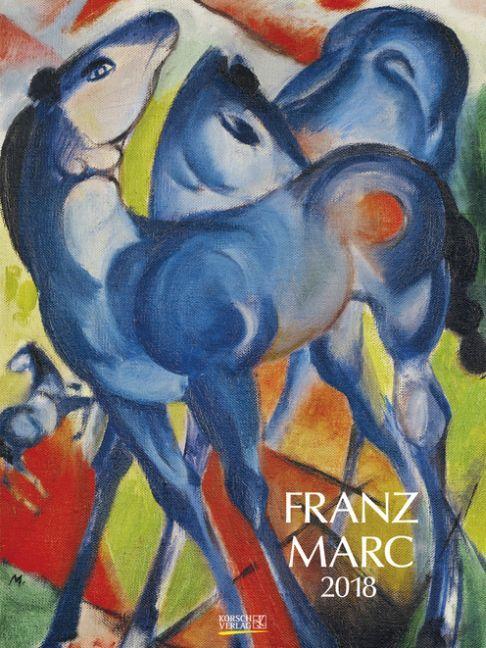 Franz Marc 2018. Kunst Gallery Kalender
