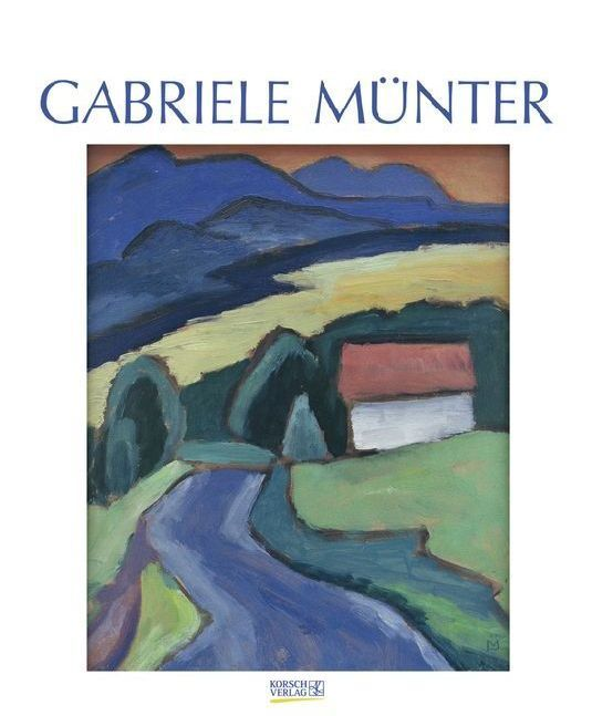 Gabriele Münter 2018. Kunst Art Kalender
