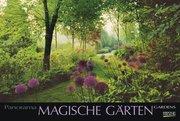 Magische Gärten 2018. PhotoArt Panorama Kalender