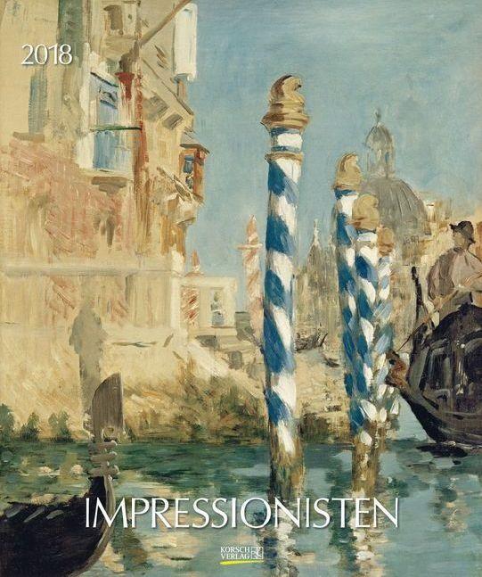 Impressionisten 2018. Kunst Art Kalender