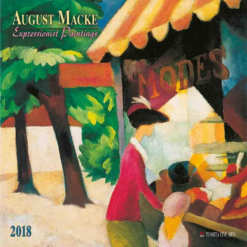 August Macke 2018. Expressionist Paintings. Exp...