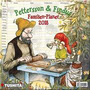 Pettersson und Findus Familienplaner 2018 Media Illustration