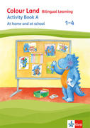 Colour Land. Activity Book At home and in school. Ausgabe 2017. Klasse 1-4