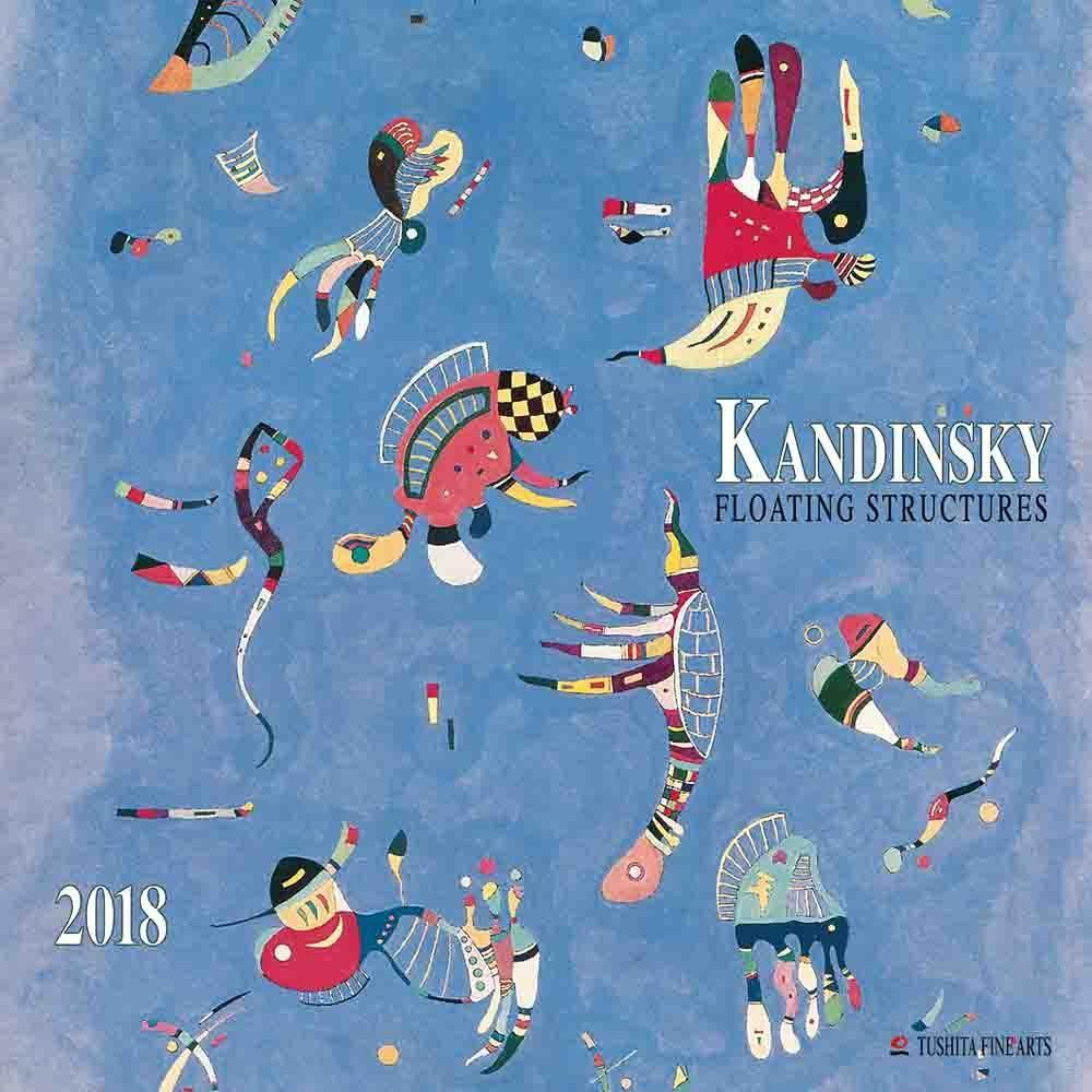 Wassily Kandinsky - Floating Structures 2018 Mo...