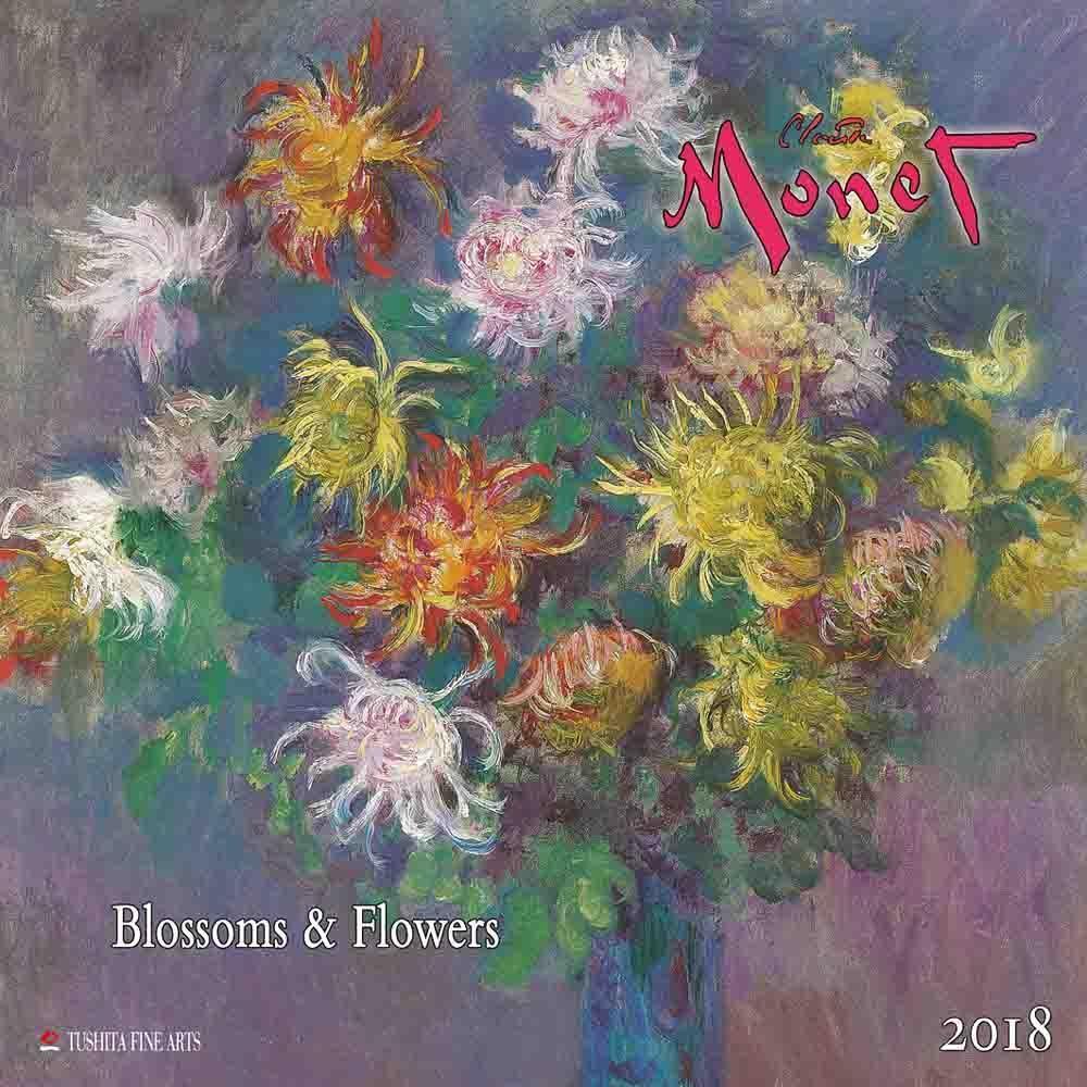 Claude Monet - Blossoms & Flowers 2018