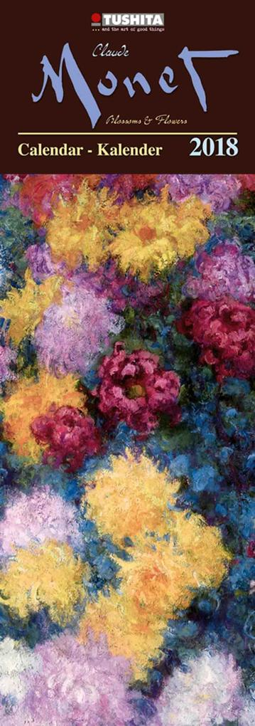 Claude Monet - Blossoms and Flowers 2018 Slim L...