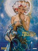 Alphonse Mucha 2018 Decor Calendar